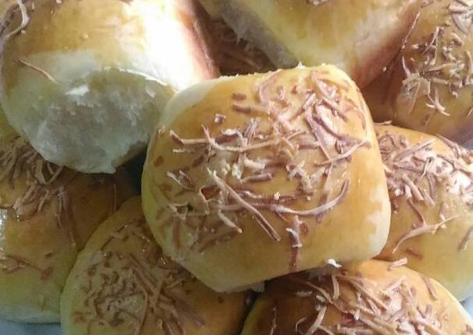 Roti coklat dan Keju