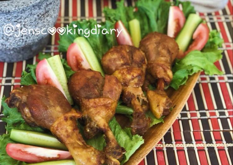 Easiest Way to Cook Yummy Ayam Bakar Kecap (Sweet Soy Sauce Grilled Chicken)