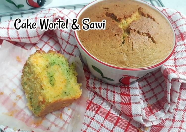 Cake Wortel & Sawi