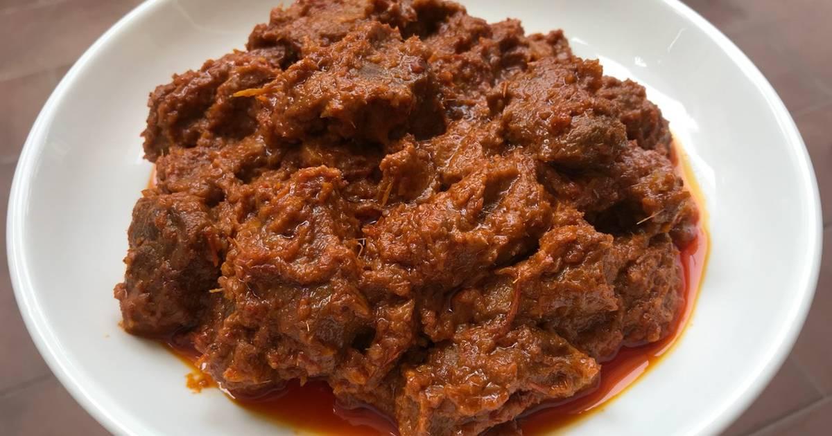 Resep Rendang daging simple, cepat dan enak oleh Rasti Rusta - Cookpad