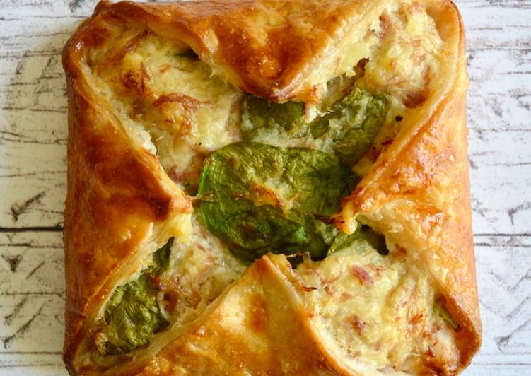 How to Cook Tasty Ham Hock & Spinach Parcels