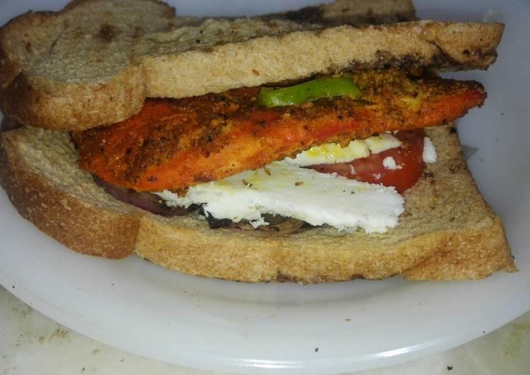 Grill Cheese Chicken Sandwich