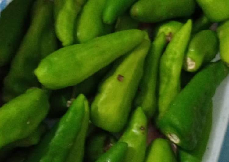 Recipe of Super Quick Homemade Green chilli