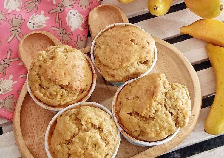 Resep Banana Muffin Bikin Ngiler