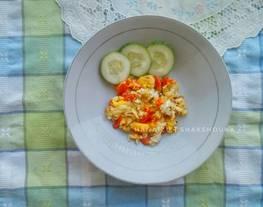 Shakshuka/Shakshouka Simpel (Tumis Tomat Telur ala Timur Tengah)