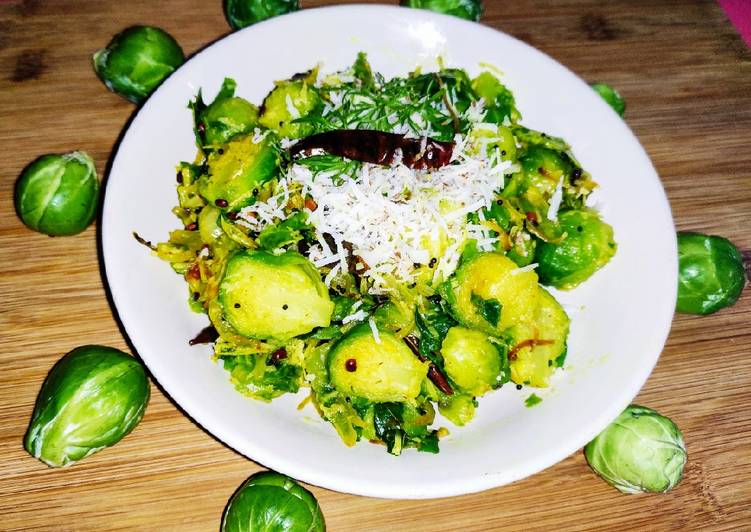 Recipe of Most Popular Brussels Sprouts Poriyal