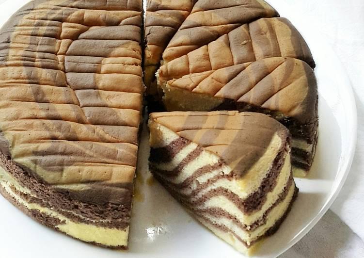 Ogura Zebra Cake