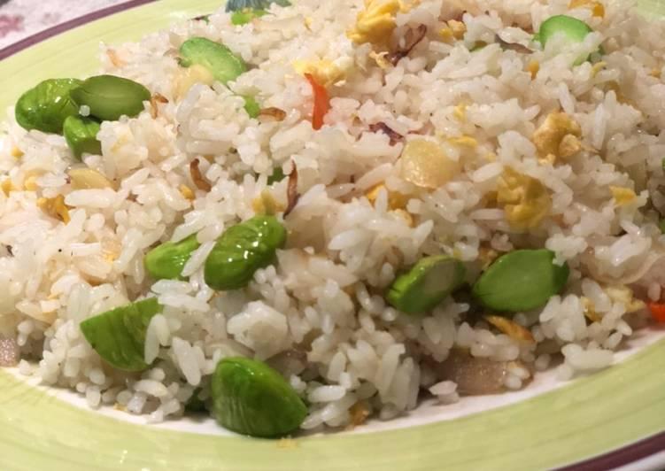Recipe: Tasty Nasi goreng pete jadul