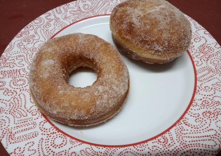Comment Préparer Des Donut et Beignet au sucre