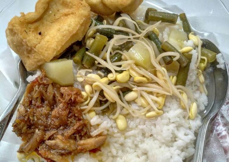 Resep Sayur Asem + Tahu Goreng + Sambel Ikan Pindang Yang Simple Pasti Enak