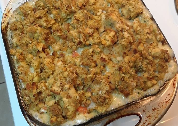 Step-by-Step Guide to Make Homemade Chicken Stuffing Casserole