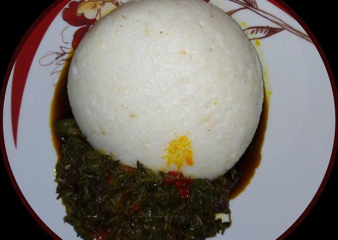 Eforiro(Spinach soup)