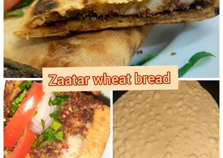 Zaatar wheat bread