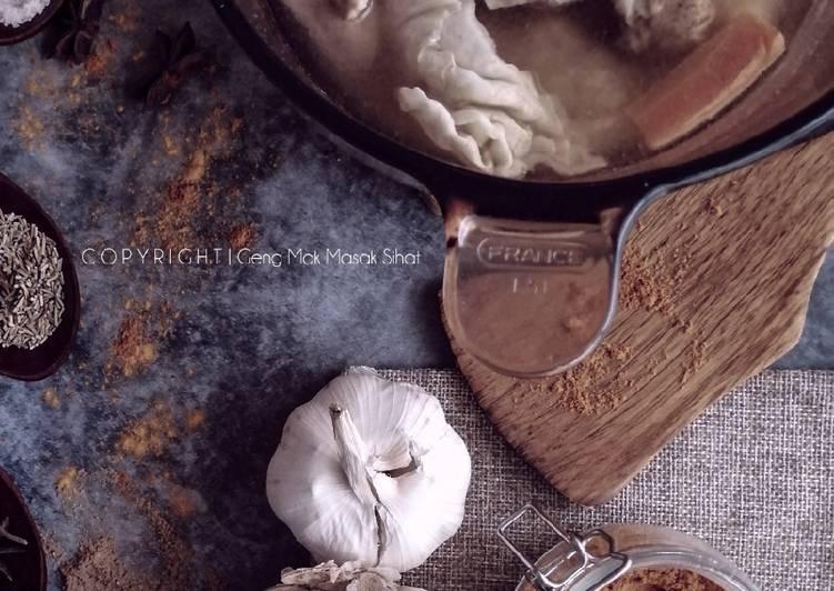 Sup Ayam tanpa tumis - velavinkabakery.com