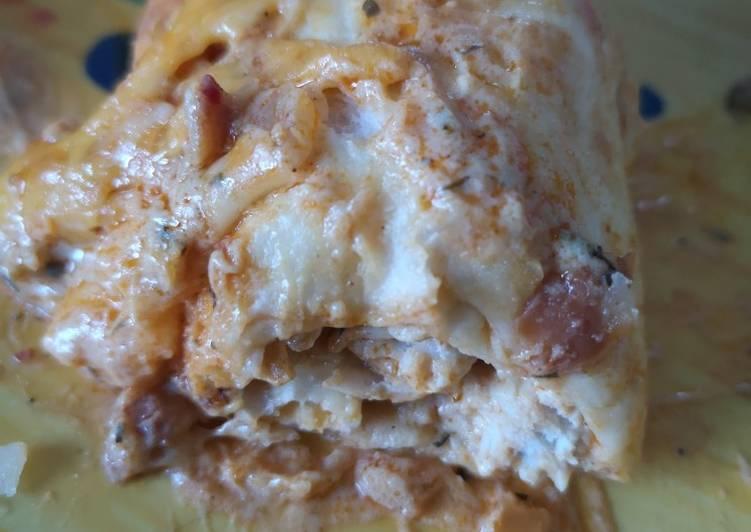Tortillas au poulet sauce Tikka massala