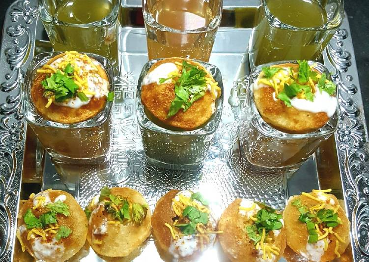 Simple Way to Make Homemade Pani Puri with 2 types of Water 😋