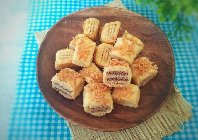 Wafer Cheese Cookies