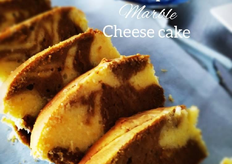 Tutorial Membuat Resep Mantab Dari Butter espresso marble cheese cake
