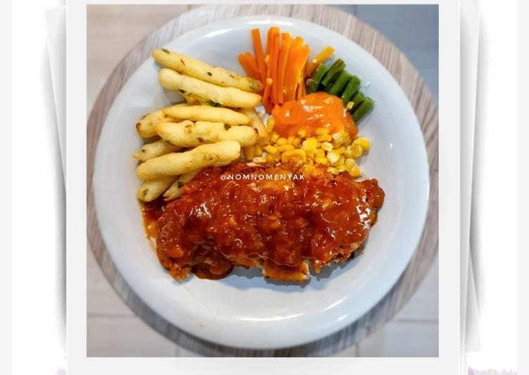 Chicken Cordon Bleu ala Solaria