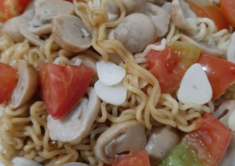 7 Resep: Mie goreng instan plus sayuran Untuk Pemula!