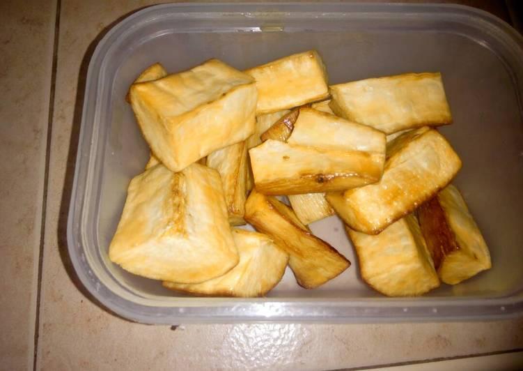Deep fried cassavas