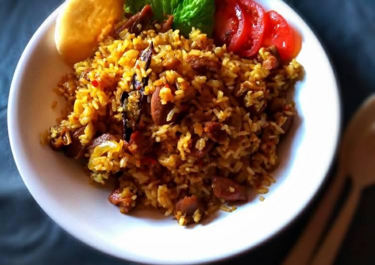#Nasi goreng kambing