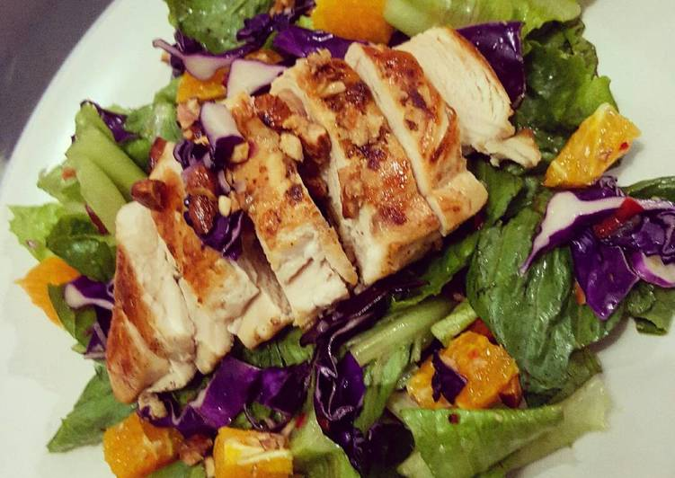 Chicken Salad With Thai Dressing
