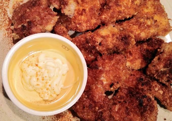 Nuggets di pollo corn flakes 🍗