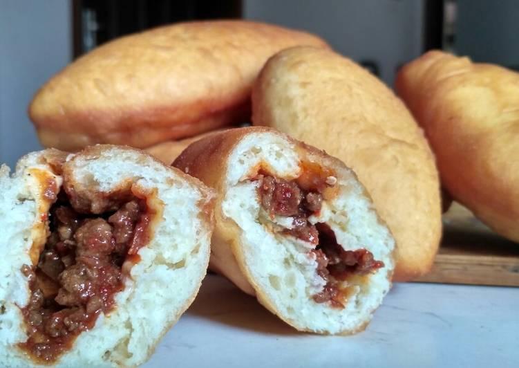 Roti Goreng Daging Pedas