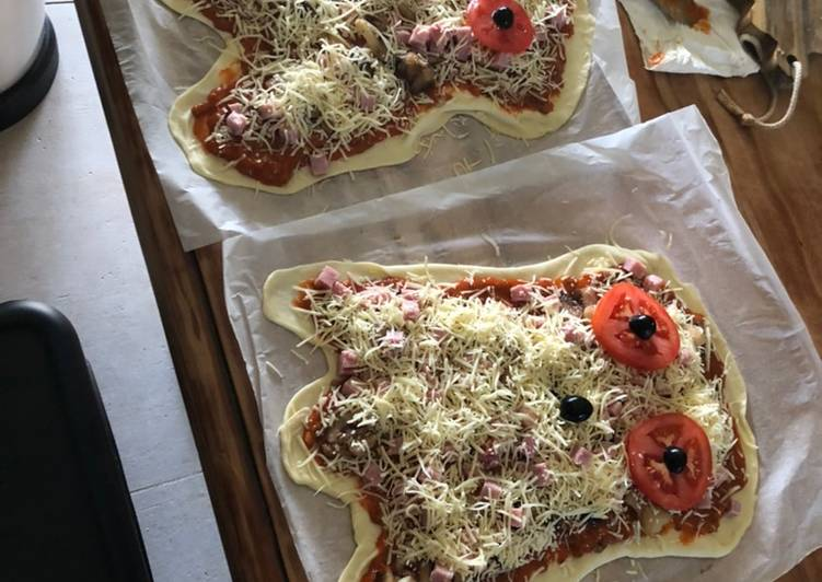 Recette Des Pizza � fantômes
