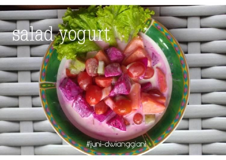 Salad yogurt #SaladAction