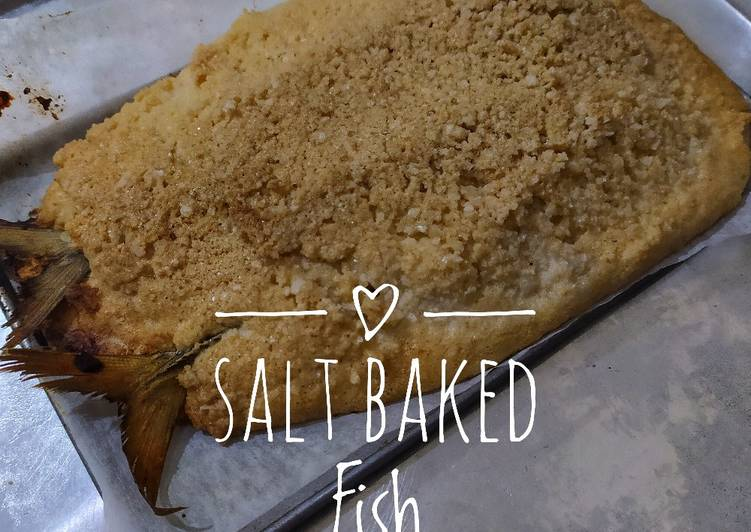 Salt Baked Fish No Ribet
