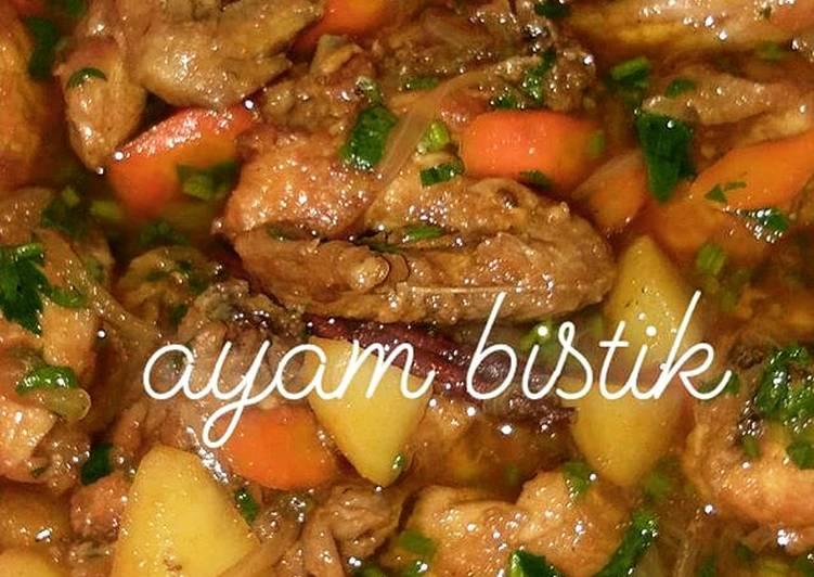 Resep Ayam Bistik Masakan Mama Mudah