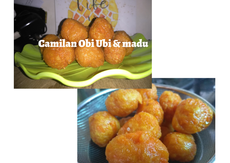 Camilan Obi-obi & Madu