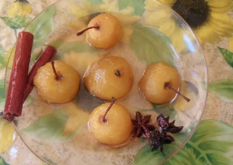Comment Préparer Des Tajine des pommes