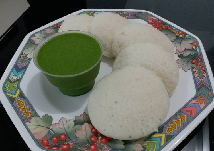 Instant Rice Idli - Laurie G Edwards