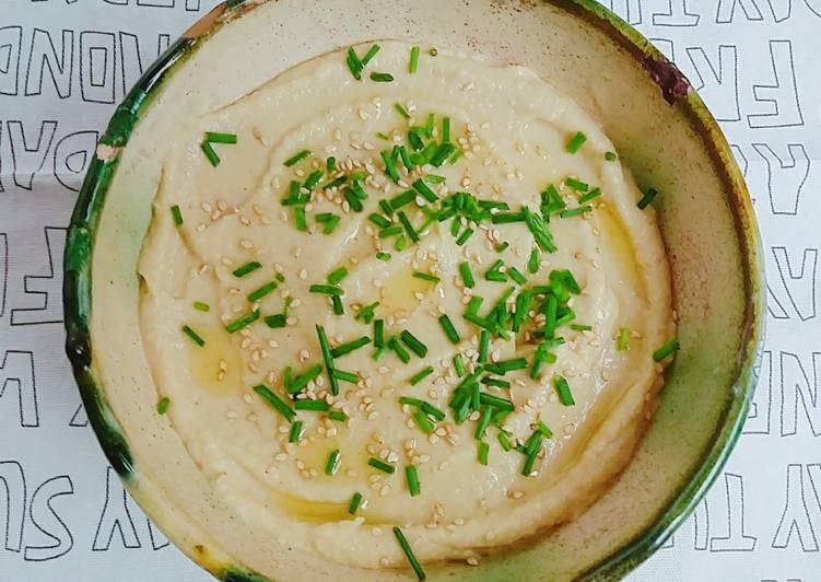 Hummus de alcachofa delicioso!