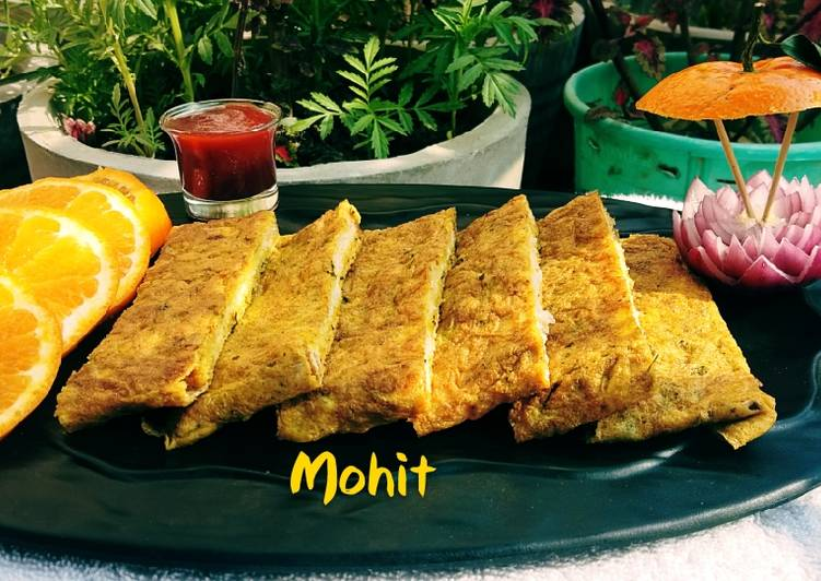 Foods That Can Make You Happy Omlete with slice