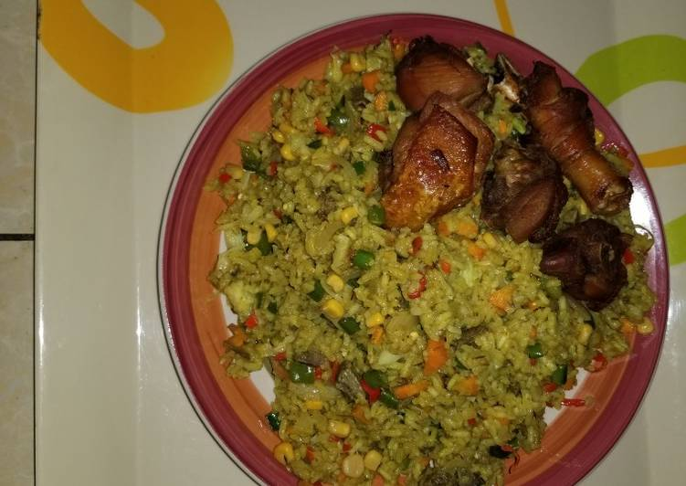 Easiest Way to Cook Delicious Fried rice