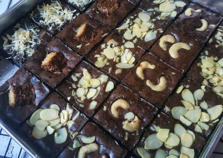 Fudgy n Chewy Brownies