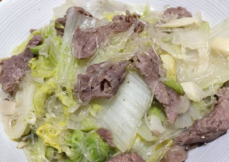 Glass Noodle with Beef