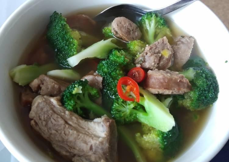 Sup brokoli sederhana