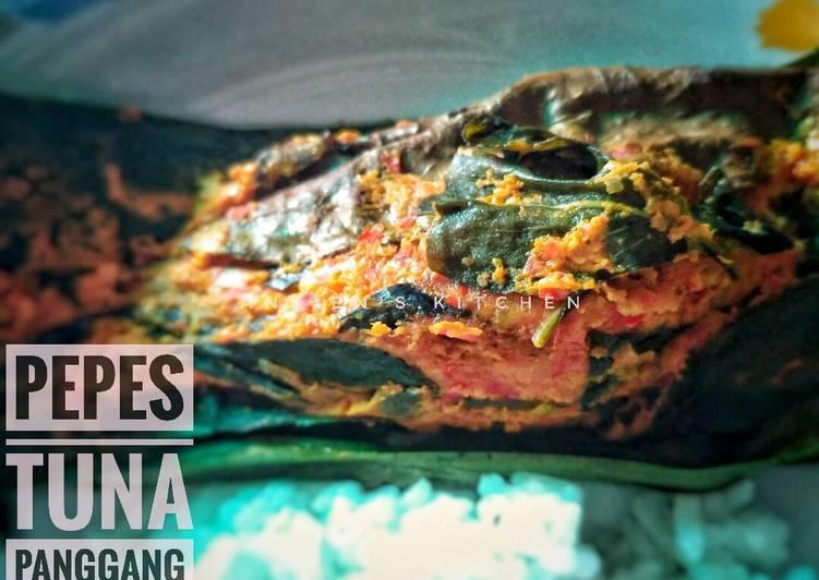 Pepes tuna panggang