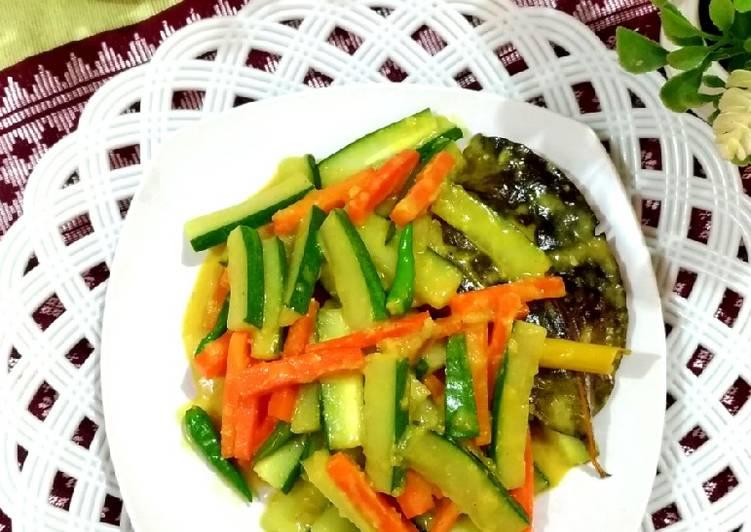 90. Acar Kuning Timun Wortel - cookandrecipe.com