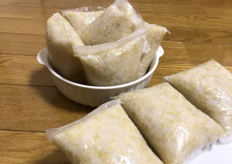 Brown Rice Ketupat