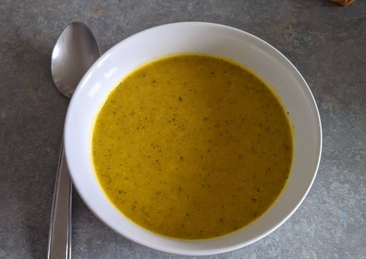 Steps to Prepare Any-night-of-the-week Squash, broccoli and cheddar soup