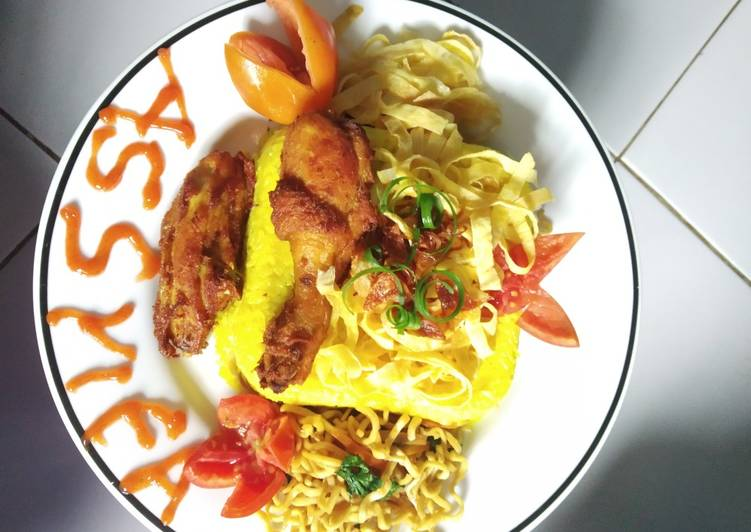 Nasi kuning spesial - cookandrecipe.com