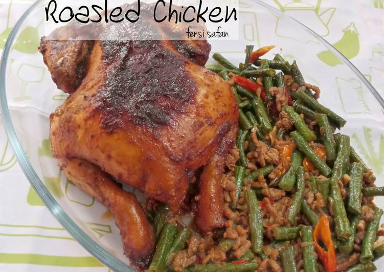 Roasted Chicken ala Western Restaurant