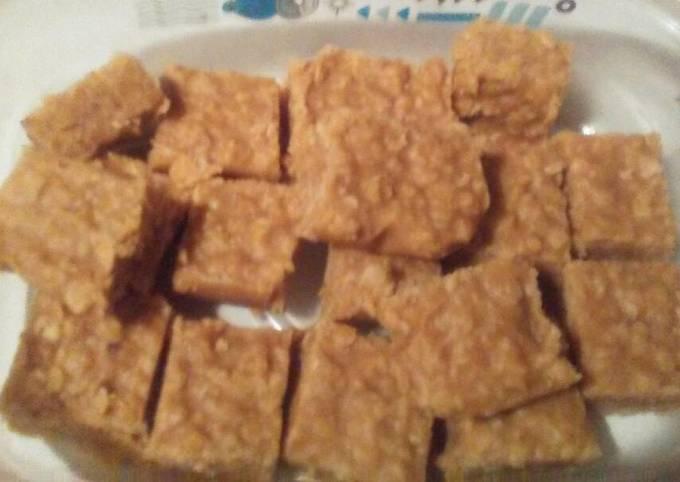 Peanut Butter Oatmeal Candy