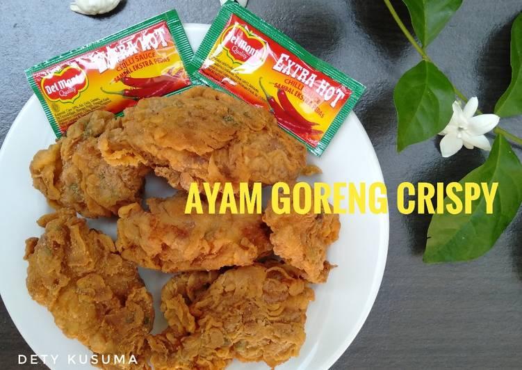 91. Ayam goreng crispy